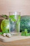 Kop van groene thee Stock Foto
