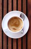 Kop van heerlijke espresso coffe Royalty-vrije Stock Fotografie