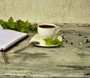 Kop van heerlijke koffie Royalty-vrije Stock Afbeeldingen