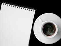 Kop van hete koffie Stock Fotografie