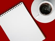 Kop van hete koffie Royalty-vrije Stock Foto's