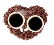 Kop van hete koffie Royalty-vrije Stock Foto