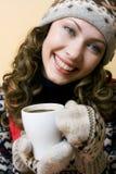Kop van hete koffie Stock Afbeeldingen