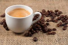 Dichte omhooggaand van de koffie Royalty-vrije Stock Afbeeldingen