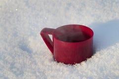 Kop van hete thee Stock Afbeeldingen