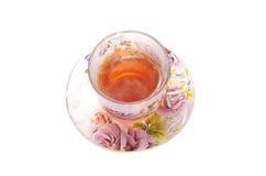 Kop van hete thee Royalty-vrije Stock Afbeeldingen