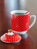 Kop van hete thee Stock Afbeelding