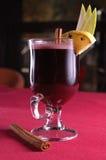 Kop van hete wijn royalty-vrije stock foto's