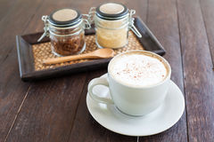 Kop van koffie Stock Afbeelding