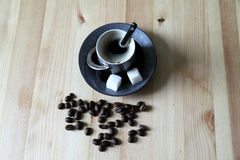 Kop van koffie Royalty-vrije Stock Foto's