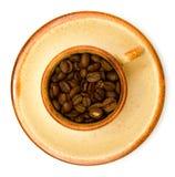 Kop van koffie Royalty-vrije Stock Afbeeldingen