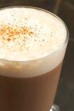 Kop van koffie latte royalty-vrije stock fotografie