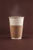 Kop van koffie om te gaan Royalty-vrije Stock Afbeeldingen