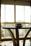 Kop van Koffie op de Lijst Royalty-vrije Stock Afbeelding