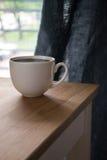 Kop van koffie/T-stuk Royalty-vrije Stock Foto's