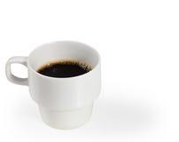 Kop van koffie witte kop Royalty-vrije Stock Fotografie