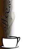 Kop van koffieachtergrond Royalty-vrije Stock Fotografie
