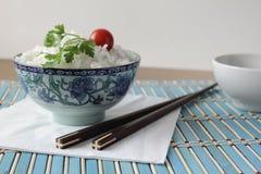 Kop van rijst royalty-vrije stock fotografie