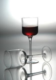 Kop van rode wijn cabernet Royalty-vrije Stock Afbeeldingen