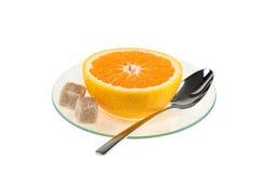 Kop van sinaasappel Stock Afbeeldingen
