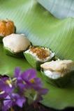 Kop van zoet Thais dessert Stock Afbeelding