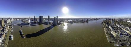 Kop van Zuid Rotterdam Stock Foto's