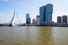 Kop van Zuid, Rotterdam, Paesi Bassi immagine stock libera da diritti