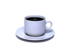 Kop van zwarte cofee Stock Afbeeldingen
