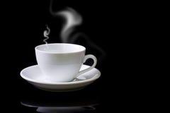 Kop van zwarte koffie stock afbeelding