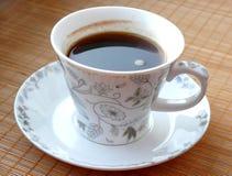 Kop van zwarte koffie Royalty-vrije Stock Afbeeldingen