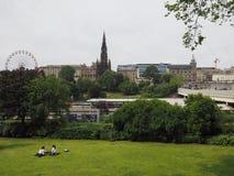 Kopa wzgórze w Edynburg Obraz Royalty Free