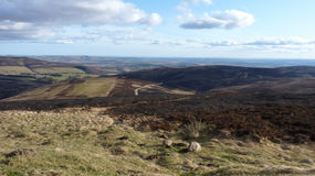 kopa zbocza góry o widok Obraz Stock