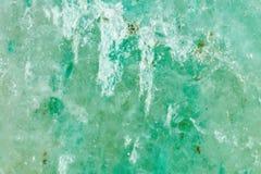 Kopalina jest jadeitem Tekstura kopalina Makro- strzelanina naturalny gemstone Surowa kopalina Abstrakt obraz stock