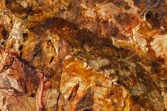 Kopaliny barwić skały Obrazy Royalty Free