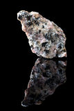 Kopaliny granitowa skała zdjęcie stock