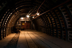kopalnia węgla nowożytna Fotografia Stock