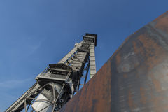 kopalnia w Genk, Belgia obraz stock