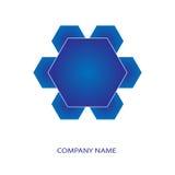 Kopalny krystaliczny logo Obraz Stock