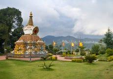 Kopan - buddistklooster Stock Fotografie
