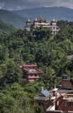 Kopan monastery kathmandu valley nepal Royalty Free Stock Photo