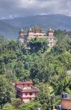 Kopan monastery located near kathmandu Stock Photos