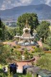Kopan monastery located near kathmandu Royalty Free Stock Photography