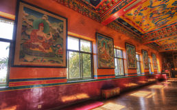 Kopan monastery located near kathmandu Stock Photography