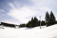 Kopaonik ski slope Stock Images