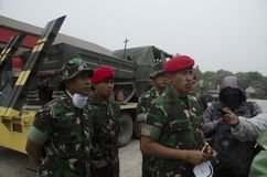 KOPASSUS HUMANITARIAN MISSION Stock Photo