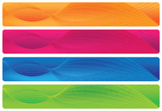 Kopballen/Banners - Brights vector illustratie