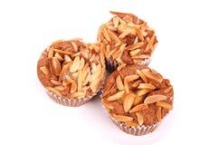 Kopcakes met noten Royalty-vrije Stock Foto's