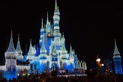 Kopciuszek kasztel przy Magicznym królestwem, Walt Disney świat Zdjęcie Royalty Free