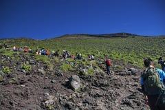 Kopcowanie góra Zdjęcie Royalty Free