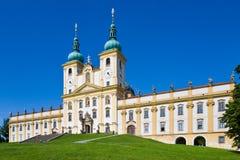 Kope?ek mineur de Svaty de basilique, Olomouc, Moravie, République Tchèque, l'Europe Image libre de droits
